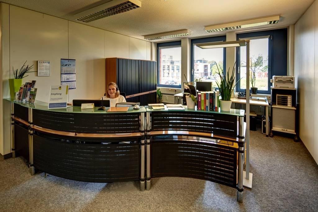 Empfang Bizzcenter Konstanz Büro mieten